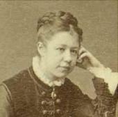Yelena Polenova. Photograph. 1874