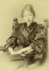 Maria Yakunchikova. Photograph. Late 1880s