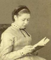 Yelena Polenova. Photo. 1866