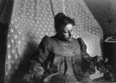 Maria Yakunchikova-Weber. Amateur photo by Leon Weber. 1898. Paris