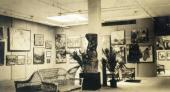 General view of the exposition at the Exhibition of Russian Art in New York