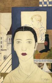 Alexandra BELCOVA. Self-portrait. 1927-1928