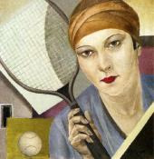 Alexandra BELCOVA. The Tennis Player. 1927
