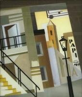 Romans SUTA. City Motif. c. 1927-1928