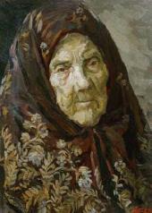 Nikolai PLASTOV. Katerina Andreevna. 1970