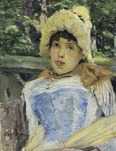 Konstantin KOROVIN. Portrait of a Chorus Girl. 1887