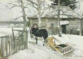 Konstantin KOROVIN. In Winter. 1894