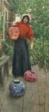 Konstantin KOROVIN. Paper Lanterns. 1896