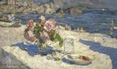 Konstantin KOROVIN. On the Seashore. 1910