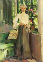 Portrait of Gurly Telyakovskaya. 1905