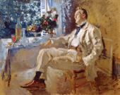 Portrait of the Artist Feodor Chaliapin. 1911