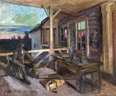 Okhotino. 1912