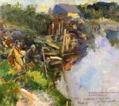 Fishermen. 1914