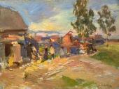 Okhotino. A Sunny Day. 1915