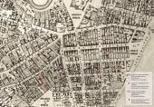 Detail of the Rogozhskaya suburb on the Moscow city plan drawn by A. Khotev.