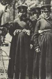 Moscow good coachmen. Photo. Late 19th century