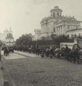 Moscow. Mokhovaya street, Rumyantsev museum. Photo. Late 19th century
