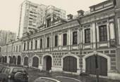 One of the four surviving buildings in 1st Rogozhskaya Street (now, 22 Shkolnay