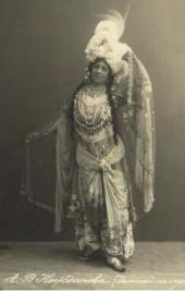 Antonina Nezhdanova as the Queen of Shemakha