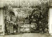Capital City Act III stage set for the Bolshoi Theatre production, 1909