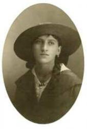 Anna Kreitor, sister of Ivan Kreitor. 1910s