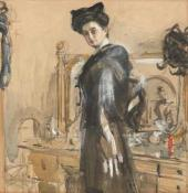 Portrait of Henrietta Girshman. 1906