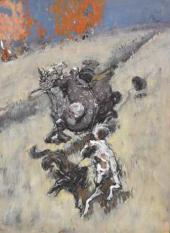 A Boyar Hunting. 1890s