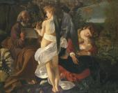 Rest on the Flight into Egypt. 1596-1597
