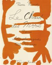 The title page of the book Pierre Reverdy. Le Chant des morts. Paris, 1948.