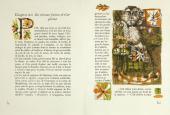 A double-page spread from the book François Rabelais. Gargantua. Toulon, 1955