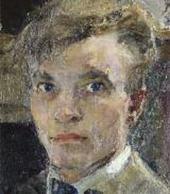 Self-portrait. 1920 (?). Detail.