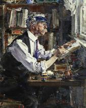 Portrait of a Printer W.G. Watt. 1924