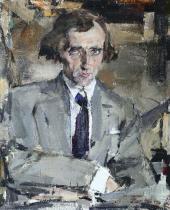 Portrait of Nikolai Yevreinov. 1920s