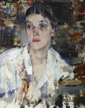 Portrait of Alexandra Fechina. 1927-1933