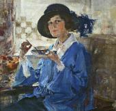 Portrait of Mrs. Krag. 1923