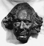 Anna GOLUBKINA. Vyacheslav Ivanov (a mask). 1914