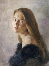 Sergei ANDRIAKA. Natasha's Portrait. 1988
