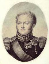 Aloizyi ROKSCHTUL. Emperor Alexander I. 1817