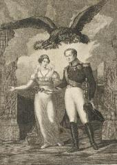 "Solomon CARDELLI. ""Peace in Europe"". An allegory. 1814"