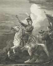 Solomon CARDELLI. From Alexander Orlovsky's original. Matvei Platov. 1813