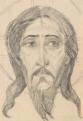 MIKHAIL NESTEROV. HEAD OF CHRIST.