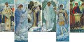 MIKHAIL NESTEROV. SKETCHES OF IMAGES FOR THE ICONOSTASIS OF THE TRINITY CATHEDRA