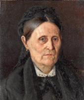 PORTRAIT OF MARIA NESTEROVA. Late 1870s