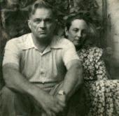 NATALYA NESTEROVA AND FYODOR BULGAKOV. 1957.
