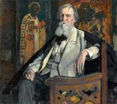 PORTRAIT OF VIKTOR VASNETSOV. 1925