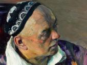 PORTRAIT OF ALEXEI SHCHUSEV. 1941. Detail