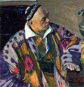 PORTRAIT OF ALEXEI SHCHUSEV. 1941