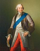 VASILY KHUDYAKOV. PORTRAIT OF IVAN SHUVALOV. 1864