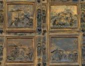 THE DOORS BY LORENZO GHIBERTI. DETAIL.