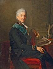 JEAN-LAURENT MOSNIER. PORTRAIT OF COUNT ALEXANDER STROGANOV. 1804